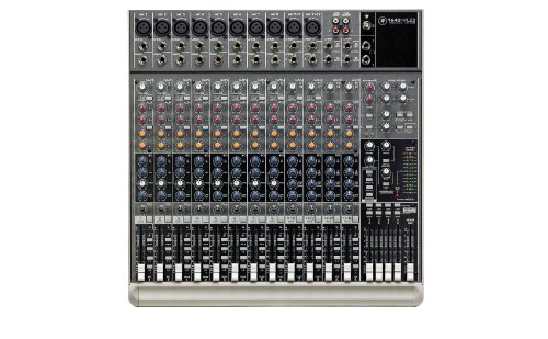 Mackie Designs. 1642VLZ3 Ultra-low Noise Board Mixer with 16 high-headroom line inputs - Mackie Mixer Board