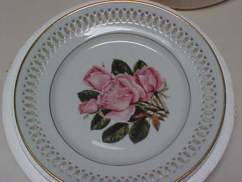 Queen Elizabeth Rose Collector Plate