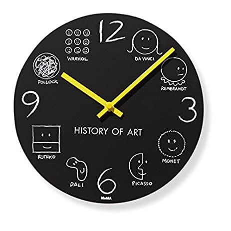 Amazoncom History of Art Wall Clock 10 MoMA Exclusive Home