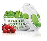 Salatschleuder Salat Sieb Schüssel Schleuder Salatkarussell Salatsieb Küchensieb