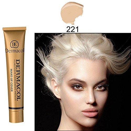 #221 Dermacol base primer corrector concealer cream makeup base tatoo consealer face foundation contour palette 30g 100% Original