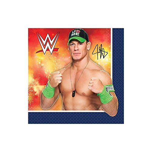 WWEParty Beverage Napkins, Party Favor]()