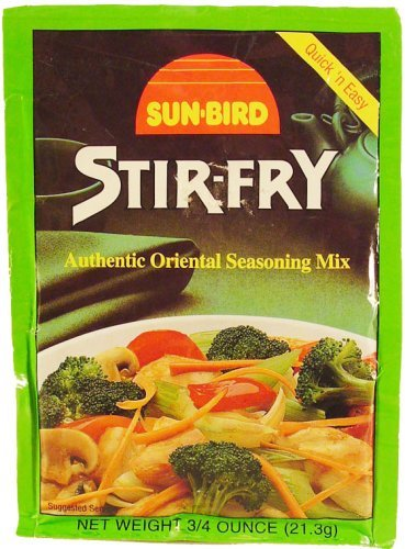 Sunbird Seasoning Mix Stir-Fry ,  4 - .75 Ounce - Bird Place Asian