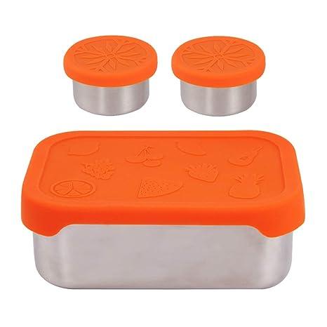 d382ad7c8ac2 Amazon.com: kilofly 3-Piece BPA Free Leak Proof Rectangular Reusable ...