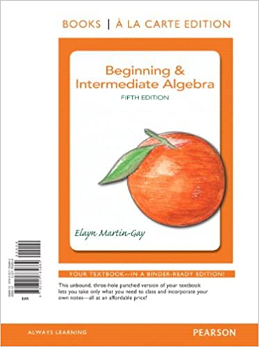 Beginning intermediate algebra books a la carte edition 5th beginning intermediate algebra books a la carte edition 5th edition 5th edition fandeluxe Gallery