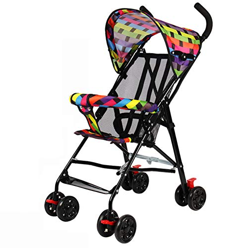 Lightweight Stroller – Convenient Compact Stroller Umbrella – Folding Pushchair – Ultra Light 3.8kg – Fully Reclines – Rear Wheel Brake – Travel Walking – 6-36 Months