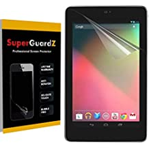 [3-Pack] For Google Nexus 7 (1st Gen, 2012 Release) - SuperGuardZ Anti-Glare Matte Screen Protector, Anti-Fingerprint, Anti-Scratch, Anti-Bubble