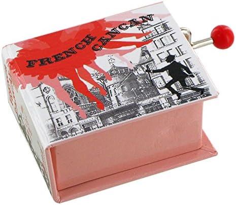 Caja de música / caja musical de manivela de cartón en forma de ...