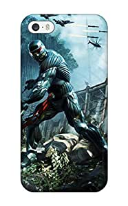 Excellent Iphone 5/5s Case Tpu Cover Back Skin Protector Crysis 3 Game