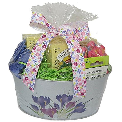 Mother's Day Gift Basket Gardening Iris