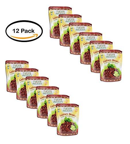 PACK OF 12 - Jyoti Organic Kidney Beans, 10 Ounce by Jyoti