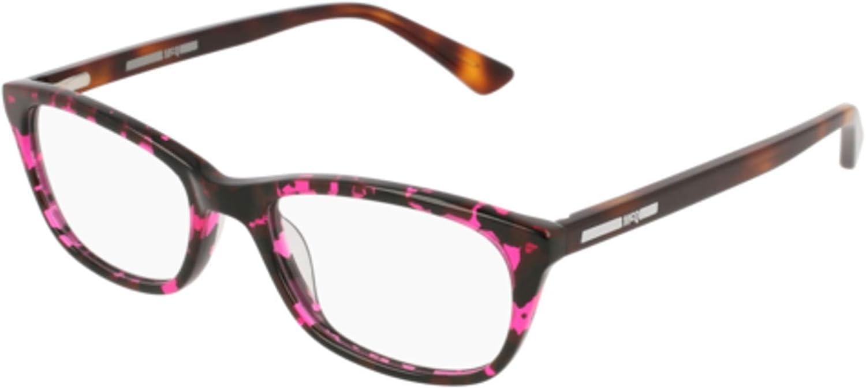 003 HAVANA // Eyeglasses Alexander McQueen MQ 0120 OP