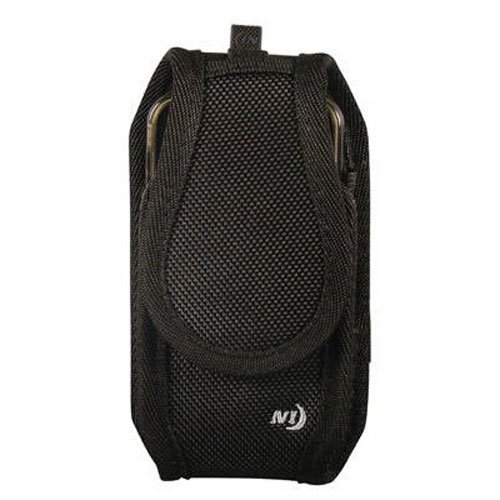 Nite Ize Clip Case Cargo Phone Holster - Protective, Clippable Phone Holder For Your Belt Or Waistband - Tall - Black