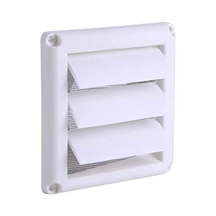 Outdoor Vent Covers >> Amazon Com 6 Dryer Vent Cover Outdoor Plastic Air Vent Grille 3