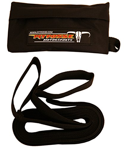 Pit Posse PP3030 Enduro Off Road Motorcycle ATV Quad Tow Hook Rope Strap