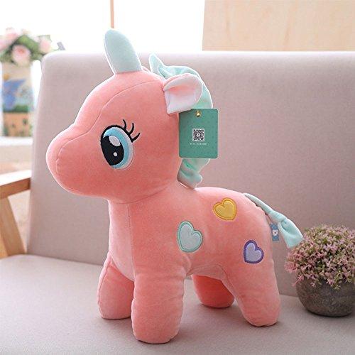 (Mini Cute Cartoon Unicorn Plush Toys PP Cotton Stuffed Animals Toy Kawaii Unicorn Plush Birthday Gifts,)