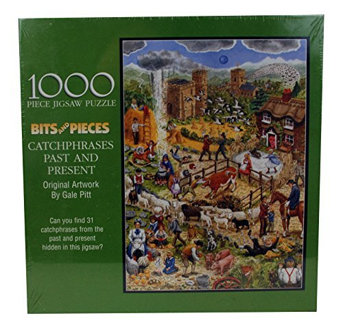 Catch 1000 Piece Puzzle (Catchphrases Past and Present by Bits and Pieces - 1000 Piece Jigsaw Puzzle 2003 Edition)