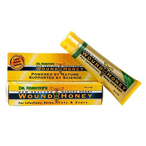 Eras Natural Sciences' Wound Honey, Manuka Honey, Wound, 80 Grams (2.8 ounces) (Honey Foot Cream Manuka)
