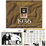 #10: 1936 Time Passages Calendar - 80th Birthday Gift