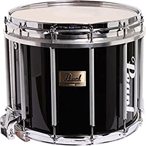 pearl competitor high tension marching snare drum midnight black 14 x 12 in high. Black Bedroom Furniture Sets. Home Design Ideas