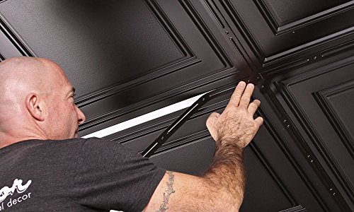 Decorative Strips Ceiling Tiles Black product image