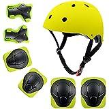 shuangjishan Child Multi-Sport Helmet with Knee...