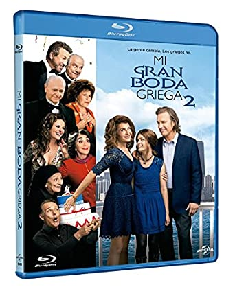Mi Gran Boda Griega 2 [Blu-ray]
