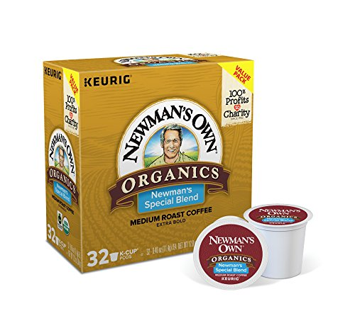 Newman's Own Organics Special Blend Keurig Single-Serve Medium Roast Coffee K-Cup Pods, 32 Count by Newman's Own (Image #1)