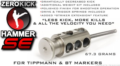TechT Zero Kick Hammer SE for All Tippmann Paintball Markers (Except 98 with ACT or X7 Phenom)