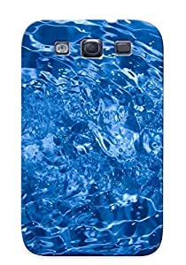 Crazinesswith Tpu Case For Galaxy S3 With Water Splash, Nice Case For Thanksgiving Day's Gift