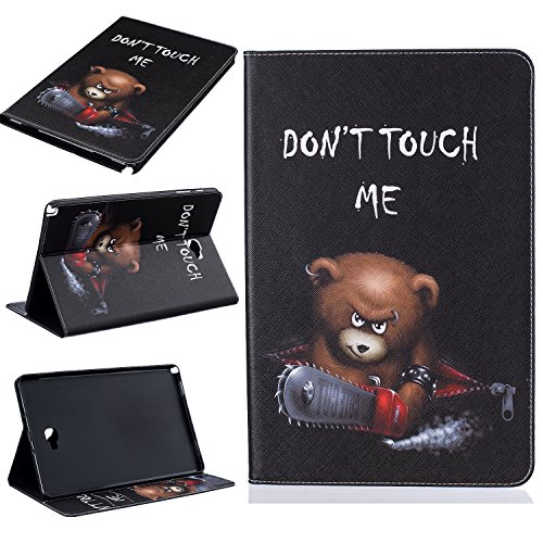 Samsung Galaxy Tab A 10.1 With S Pen(P585/P580) Case, Beimu Ultra Lightweight Slim PU Leather with Credit Card &ID Card Slot Protective Case for Samsung Galaxy Tab A 10.1 With S Pen (SM-P585/SM-P580) ()