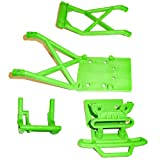 Traxxas Stampede XL-5 VXL Monster Jam GREEN BUMPER - SKID PLATES & WHEELIE MOUNT