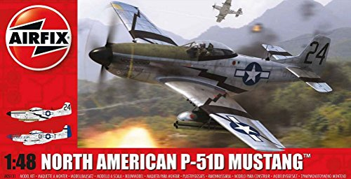 AFX05131 1:48 Airfix North American P-51D Mustang [MODEL for sale  Delivered anywhere in USA