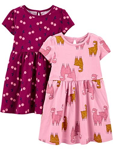 Simple Joys by Carter's 2-Pack Short-Sleeve And Sleeveless Dress Sets Infant-And-Toddler-Playwear-Dresses Unisex-Neonato… 1