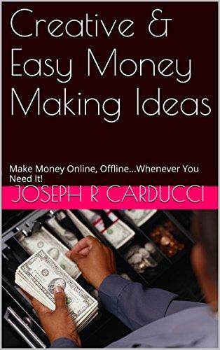 easy creative ideas to make money