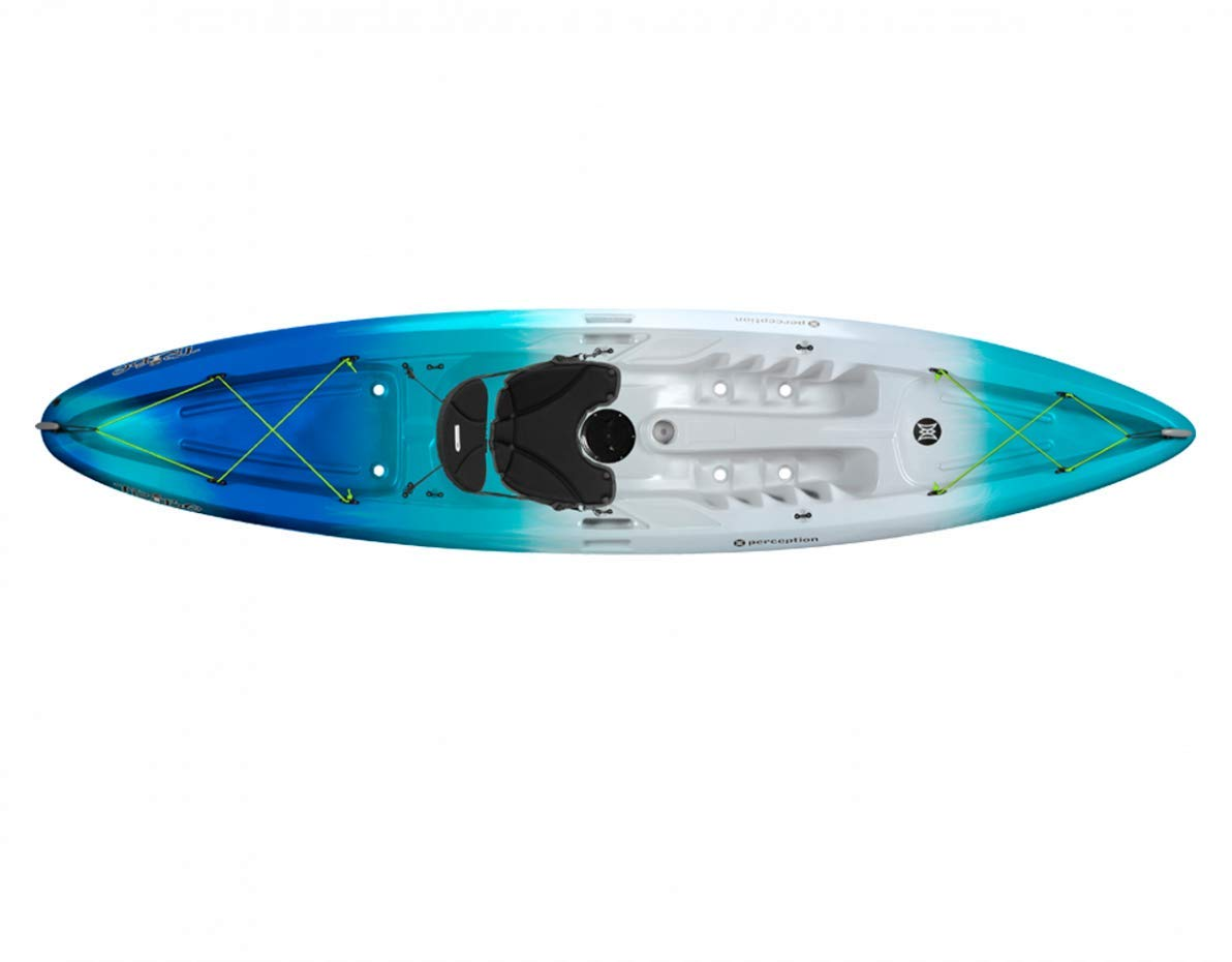 Perception Tribe Sit On Top Kayak for Recreation - 11.5, Sea Spray by Perception Kayaks