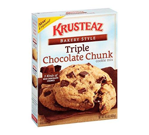 Krusteaz Bakery Style Triple Chocolate Chunk Cookie Mix