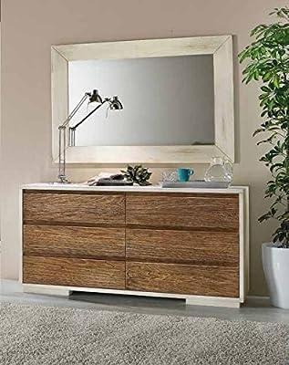 Cassettiera como\' legno 6 cassetti arredo casa: Amazon.it: Casa e cucina