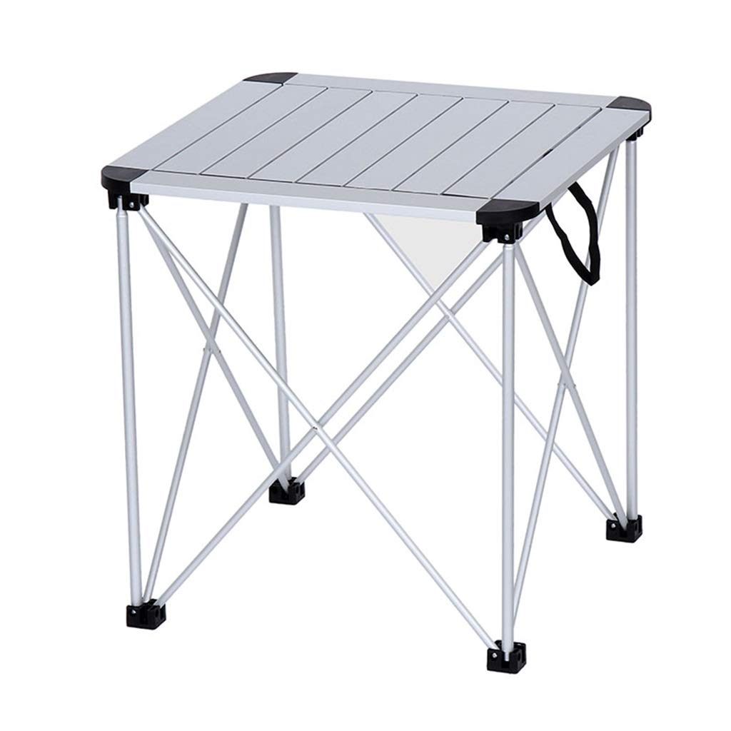 41X41X31 Portable Folding Lift Simple Square Table Ultralight Aluminum Alloy 007