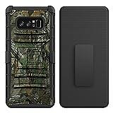 Galaxy Note 8 Case, AS-Zeke 3 in 1 Kickstand Clip