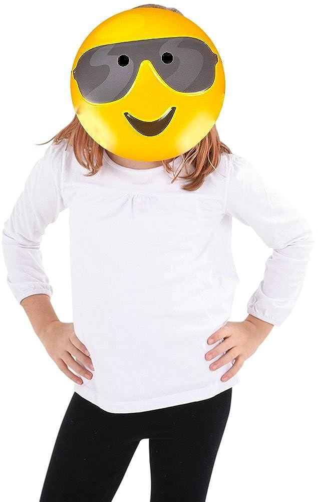 Amazon.com: Block Buster disfraces mensajes de texto Emoji ...