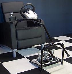 XL21D Xlerator Big Boy sim racing stand for Logitech G27 G29 G920, ThrustmasterT300RS TX