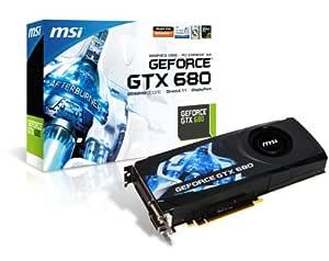MSI GeForce GTX680 - Tarjeta gráfica (4096 MB, GDDR5 ...