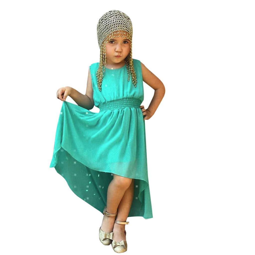 Kehen Little Girls Summer Dress Beach Dresses Sleeveless