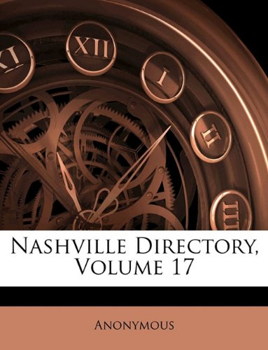 Nashville Directory, Volume 17 ebook