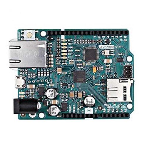 Price comparison product image Arduino Leonardo Eth(Atmega32U4 And The New W5500 Tcp / Ip)