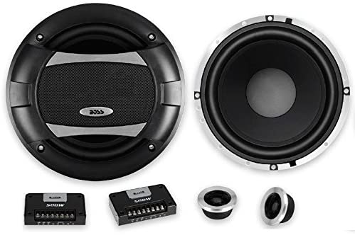 BOSS Audio Fees free!! Systems PC65.2C 500 Watt Recommendation 6.5 Per Pair Ran Full Inch
