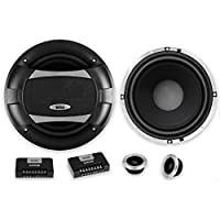 BOSS Audio PC65.2C 500 Watt (Per Pair), 6.5 Inch, Full Range, 2 Way Car Component Speaker System with 2 Tweeters and 2 Crossovers
