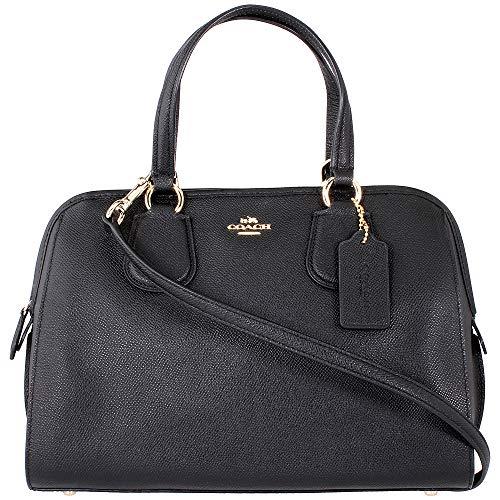 Coach Nolita Ladies Medium Leather Satchel 37138 LIBLK