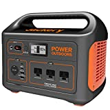 Jackery Portable Power Station Explorer 1000, 1002Wh Solar Generator (Solar Panel Optional) with 3x110V/1000W AC Outlets, Solar Mobile Lithium Battery Pack for Outdoor RV/Van Camping, Road Trip